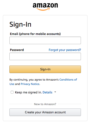 sign-in-amazon