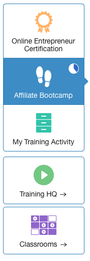 wealthy-affiliate-training-options