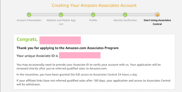 amazon-associates-creation