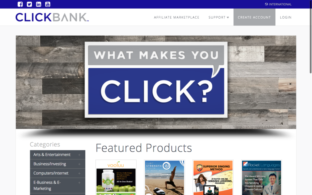 clickbank-landing-page