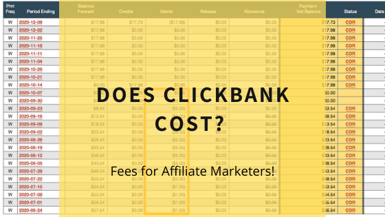 does-clickbank-cost